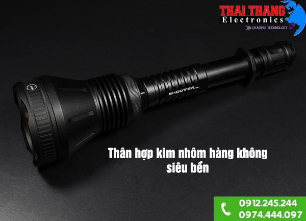 Đánh giá sản phẩm đèn pin đi rừng ban đêm 2X-U4