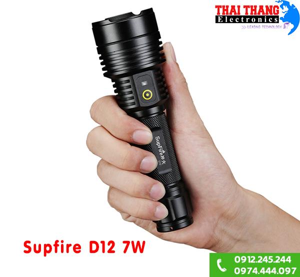 Cung cấp dòng đèn pin tiện dụng siêu sáng Supfire D12