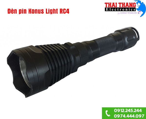 Đèn pin Konus Light RC4 Italia 1300lm