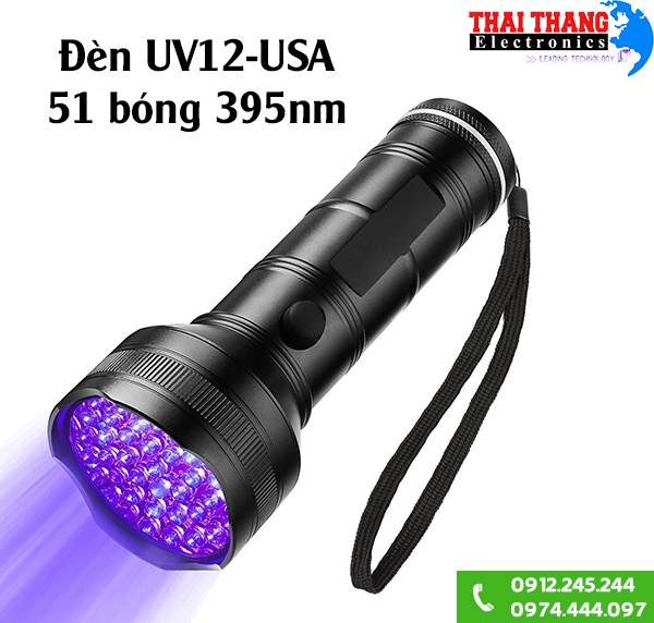 Đèn UV 51 led 395nm Winning Light UV12-USA