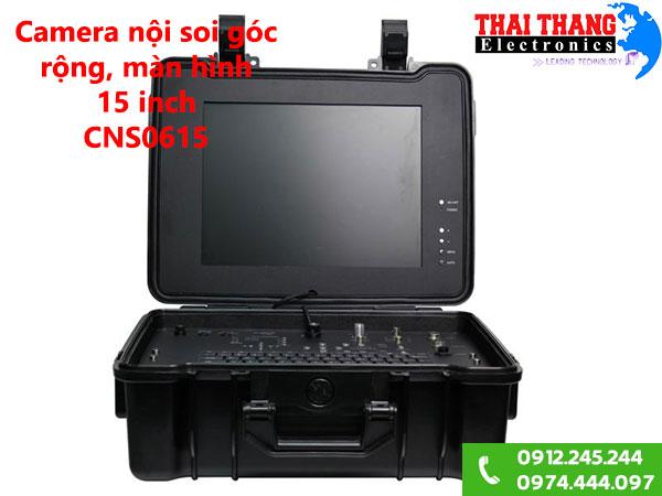Camera nội soi góc rộng, màn hình lớn 15 inch CNS0615