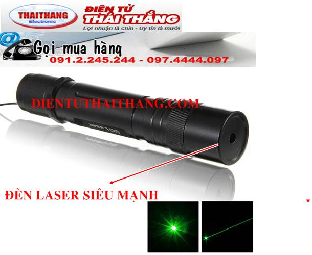 ĐÈN LASER GREEN LASERS POINTER 50MW