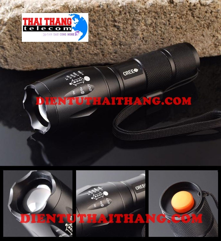 ĐÈN PIN ULTRAFIRE A100-T6 USA 1600 LUMEN
