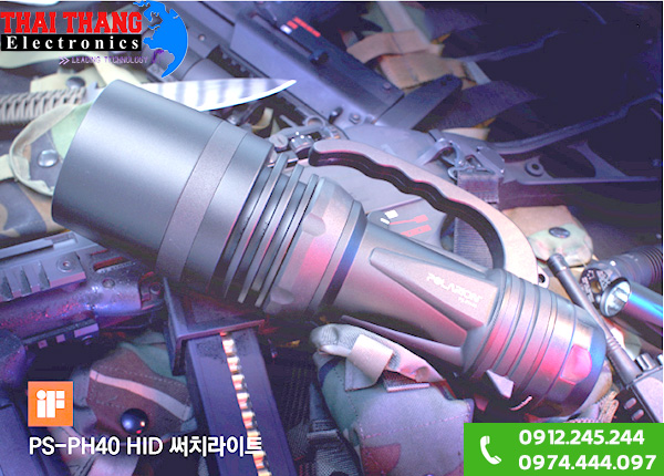 Đèn pin quân đội Hàn Quốc Led 6W PL-6