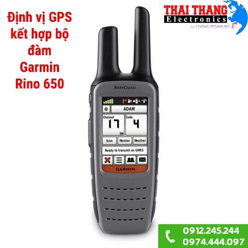 Định vị GPS Garmin Rino 650 kèm bộ đàm