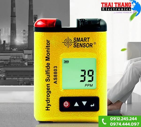 Máy đo nồng độ khí hydrogen sulfide H2S AS8803